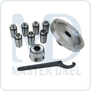 50000921 BD-7, цанговый патрон с цангами 4, 6, 8, 10, 12, 14, 16 мм