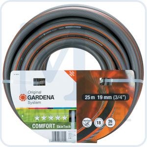 """Шланг поливочный GARDENA Comfort SkinTech 19 мм (3/4""""), 25 м (08613-20)"""