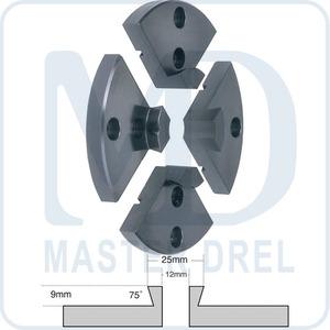 Кулачки типа D для патрона Ф 100 мм JET