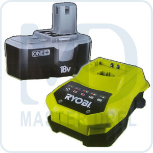 Аккумулятор и зарядное устройство Ryobi ONE+ BCP1817M