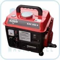 Бензиновый генератор Elitech БЭС 950 P