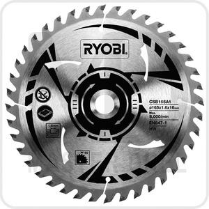 Пильный диск для циркулярной пилы Ryobi ONE+ CSB165A1