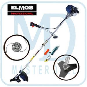 Триммер бензиновый Elmos EPT28 с ножом
