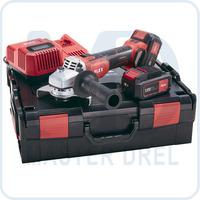 Аккумуляторная углошлифмашина ACCUFLEX L 125 18.0-EC/5.0 Set