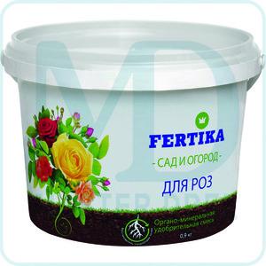Органо-минеральная смесь Фертика для роз