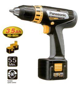 Аккумуляторная дрель Panasonic EY6409GQKW