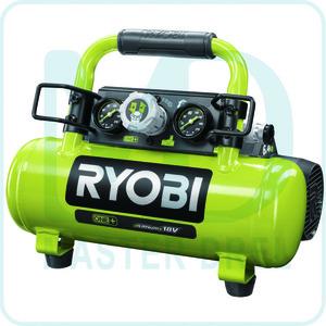 Компрессор с ресивером Ryobi ONE+ R18AC-0