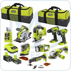 Набор инструментов Ryobi ONE+ R18CK9-LL525S