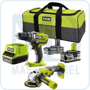Набор инструментов Ryobi ONE+ R18DDAG-252S