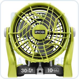 Аккумуляторный вентилятор Ryobi ONE+ R18F-0