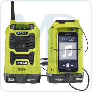 Аккумуляторный радиоприемник Ryobi ONE+ R18R-0