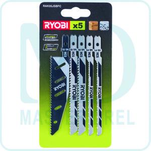 Набор пилок для лобзика Ryobi RAK05JSBFC (5132002697)