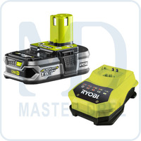 Аккумулятор и зарядное устройство Ryobi ONE+ RBC18L15