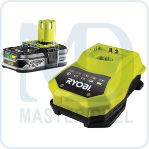 Аккумулятор и зарядное устройство Ryobi ONE+ RBC18L25