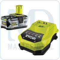 Аккумулятор и зарядное устройство Ryobi ONE+ RBC18L50