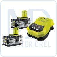 Аккумулятор и зарядное устройство Ryobi ONE+ RBC18LL40