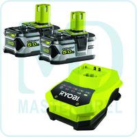 Аккумулятор и зарядное устройство Ryobi ONE+ RBC18LL50