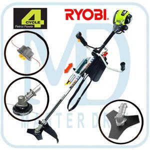 Триммер бензиновый Ryobi RBC 430 SBS с ножом