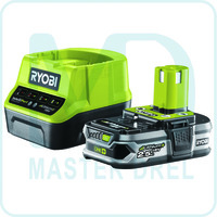Аккумулятор и зарядное устройство Ryobi ONE+ RC18120-125