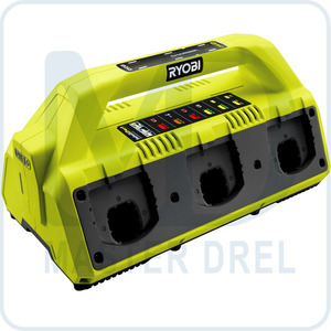 Зарядное устройство 6-ти портовое Ryobi ONE+ RC18627