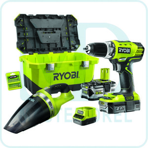 Набор инструментов Ryobi ONE+ RCD18-252VT