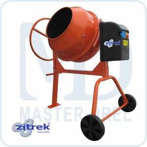 Бетономешалка ZITREK Limex 125 LS  бетоносмеситель